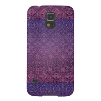 Floral luxury royal antique pattern case for galaxy s5