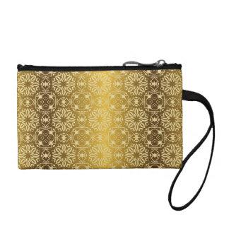 Floral luxury royal antique pattern change purse