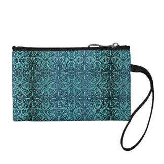 Floral luxury royal antique pattern coin purse