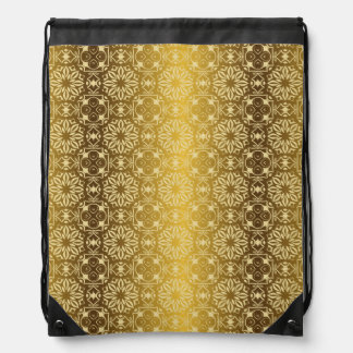 Floral luxury royal antique pattern drawstring bag