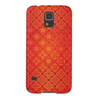 Floral luxury royal antique pattern galaxy s5 case