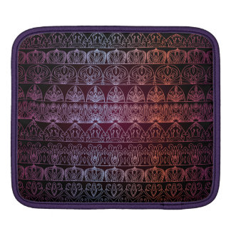 Floral luxury royal antique pattern iPad sleeve