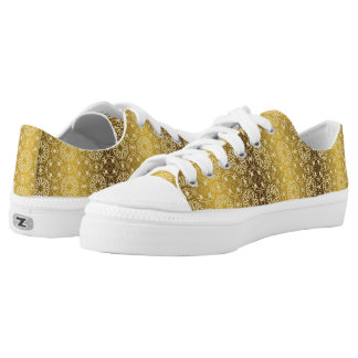 Floral luxury royal antique pattern Low-Top sneakers