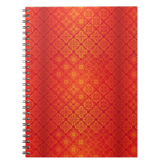 Floral luxury royal antique pattern notebook