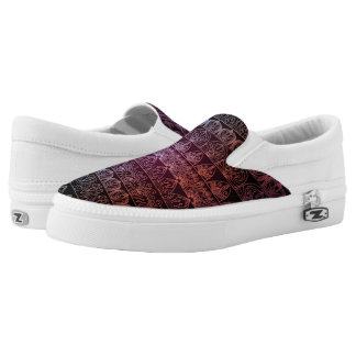 Floral luxury royal antique pattern Slip-On sneakers