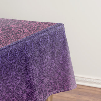 Floral luxury royal antique pattern tablecloth