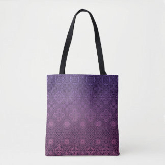 Floral luxury royal antique pattern tote bag