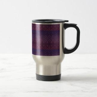 Floral luxury royal antique pattern travel mug