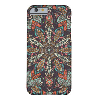 Floral mandala abstract pattern design barely there iPhone 6 case