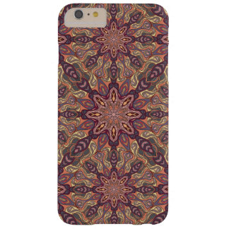 Floral mandala abstract pattern design barely there iPhone 6 plus case