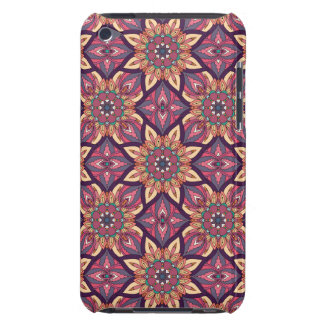 Floral mandala abstract pattern design barely there iPod cover