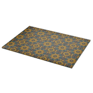 Floral mandala abstract pattern design boards