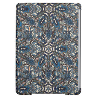 Floral mandala abstract pattern design by Somberla iPad Air Cover