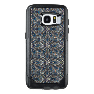 Floral mandala abstract pattern design by Somberla OtterBox Samsung Galaxy S7 Edge Case