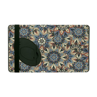 Floral mandala abstract pattern design case for iPad