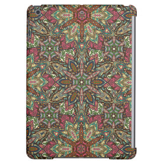 Floral mandala abstract pattern design case for iPad air
