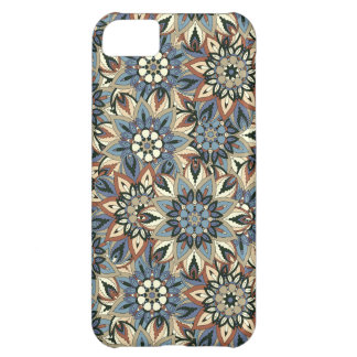Floral mandala abstract pattern design case for iPhone 5C