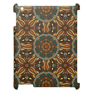 Floral mandala abstract pattern design case for the iPad 2 3 4