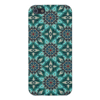Floral mandala abstract pattern design case for the iPhone 5