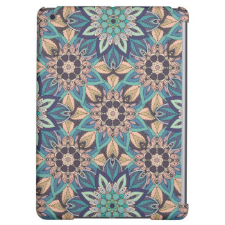 Floral mandala abstract pattern design cover for iPad air