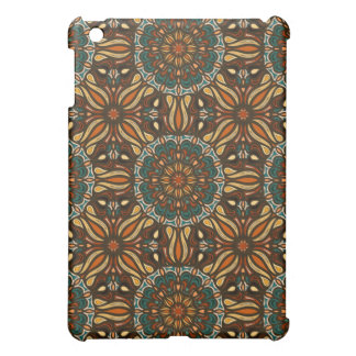 Floral mandala abstract pattern design cover for the iPad mini