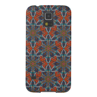 Floral mandala abstract pattern design galaxy s5 case