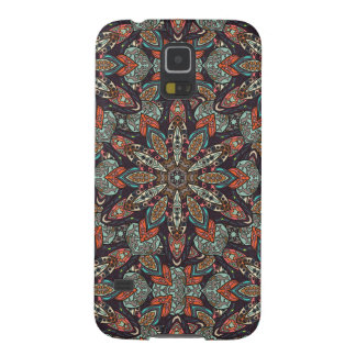 Floral mandala abstract pattern design galaxy s5 cases