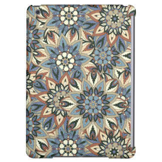 Floral mandala abstract pattern design iPad air cases