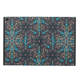 Floral mandala abstract pattern design iPad air cases