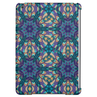 Floral mandala abstract pattern design iPad air covers