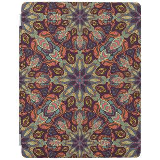 Floral mandala abstract pattern design iPad cover