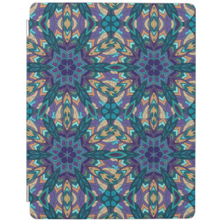 Floral mandala abstract pattern design iPad cover
