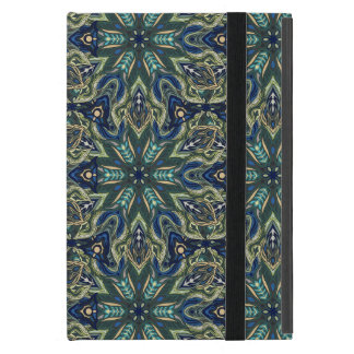 Floral mandala abstract pattern design iPad mini cover