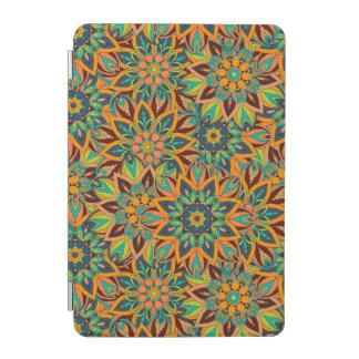 Floral mandala abstract pattern design iPad mini cover