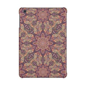 Floral mandala abstract pattern design iPad mini retina cover