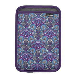 Floral mandala abstract pattern design iPad mini sleeve