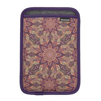 Floral mandala abstract pattern design iPad mini sleeves