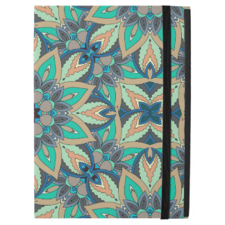 "Floral mandala abstract pattern design iPad pro 12.9"" case"
