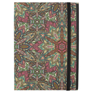 "Floral mandala abstract pattern design iPad pro 12.9"" case"