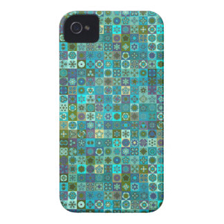 Floral mandala abstract pattern design iPhone 4 cover