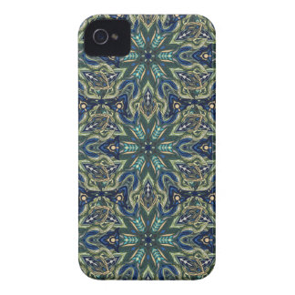 Floral mandala abstract pattern design iPhone 4 covers