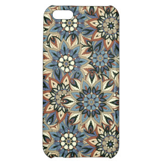 Floral mandala abstract pattern design iPhone 5C case