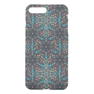Floral mandala abstract pattern design iPhone 7 plus case