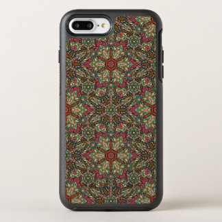 Floral mandala abstract pattern design OtterBox symmetry iPhone 7 plus case
