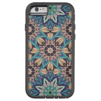 Floral mandala abstract pattern design tough xtreme iPhone 6 case