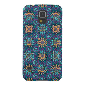 Floral mandala abstract pattern galaxy s5 covers