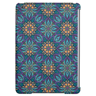 Floral mandala abstract pattern iPad air cover