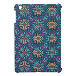 Floral mandala abstract pattern iPad mini cases