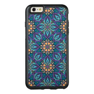 Floral mandala abstract pattern OtterBox iPhone 6/6s plus case