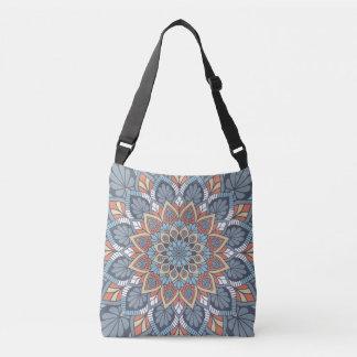 Floral Mandala Crossbody Bag
